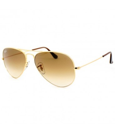 ray ban aviator gris degradado