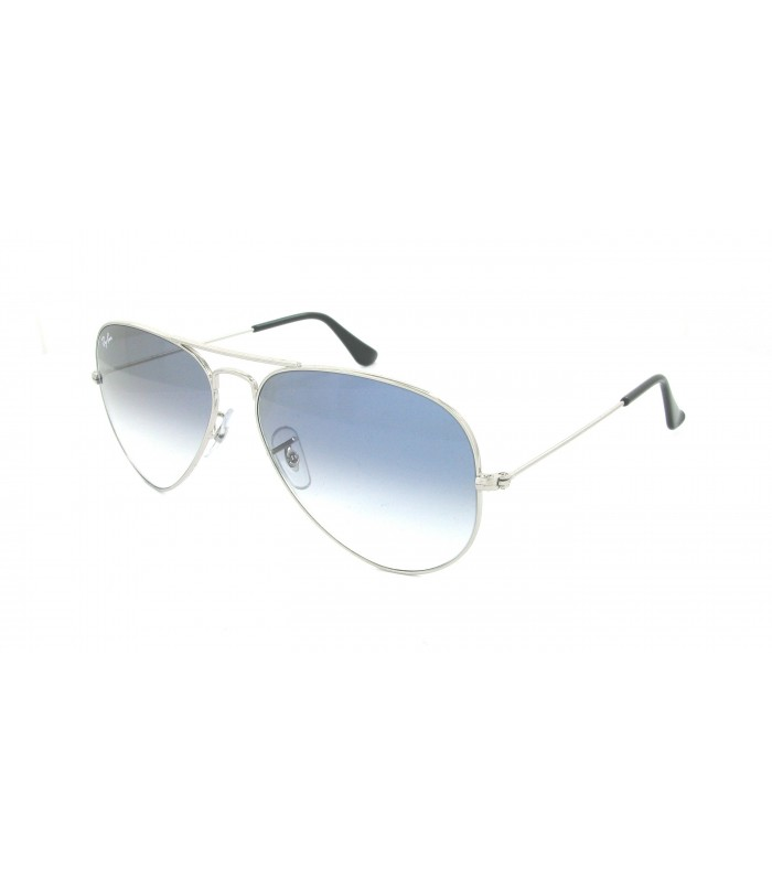 ray ban aviator azul degradado