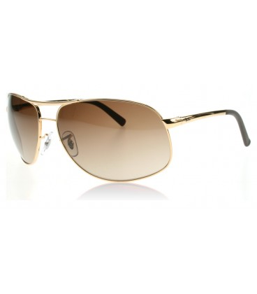 Ray Ban 3387 marrón degradado
