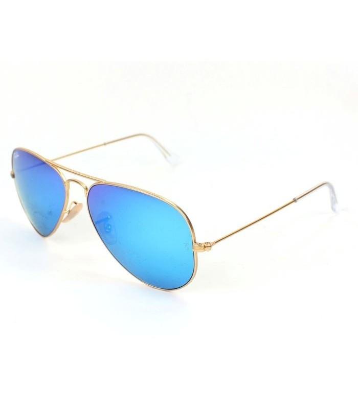 ray ban aviator azules espejo