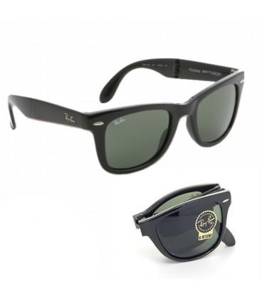b15a3d426f Gafas Ray Ban Wayfarer Folding Negras