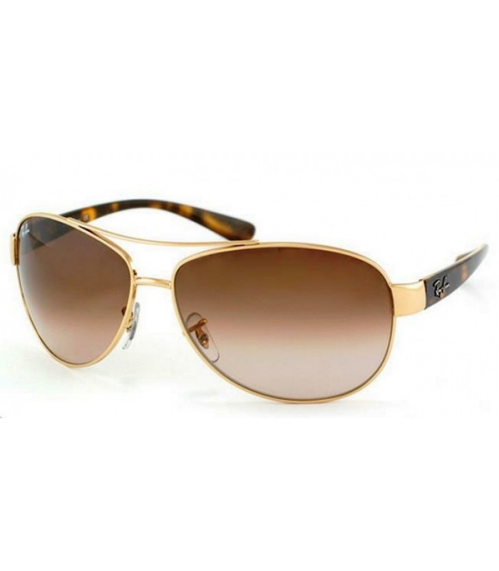 ray ban aviator monture marron