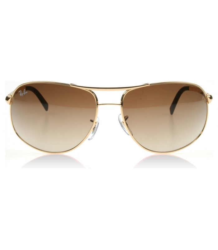 gafas ray ban aviator color marron