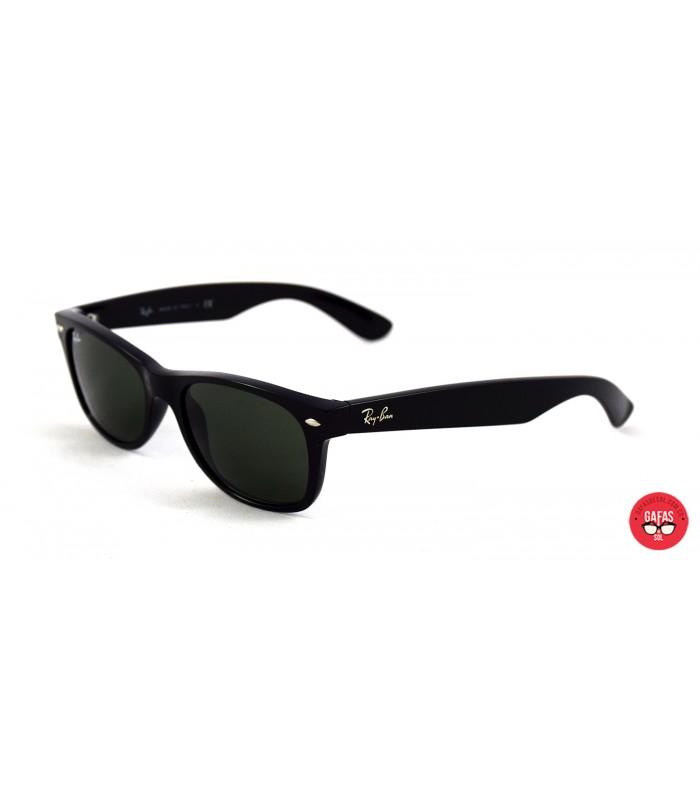 Gafas Ray Ban new Wayfarer 2132 con lente G15 y marco Negro 31a14f9454